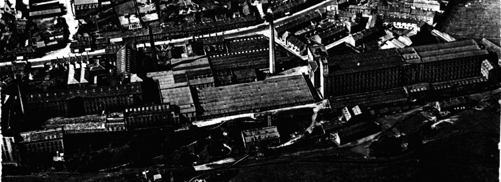 Howardtown Mill from the air