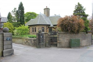 The old Coachman's Lodge entrance to Glossop Hall